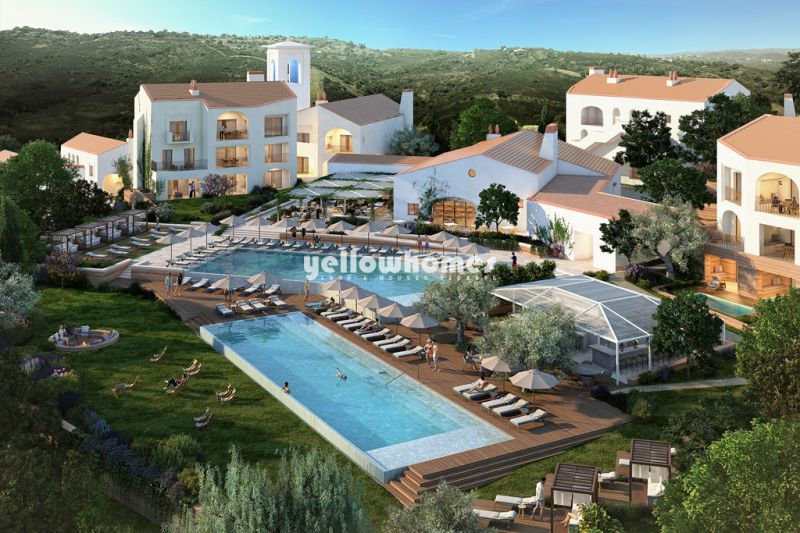 Luxury 2 bed apartments ( 1st and 2nd floor) in newest golf resort near Loule